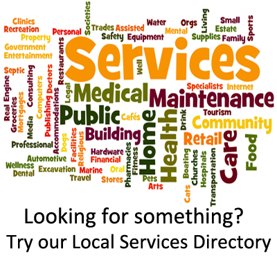 Local Services Directory Wordle